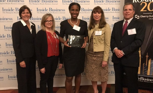 Urology of Virginia Named One of the Top 20 Companies in Hampton Roads by Inside Business