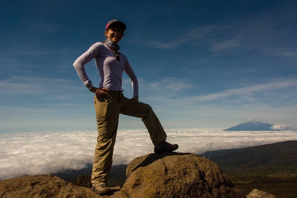 Our Dr. Jessica DeLong has just reached the peak of Mt. Kilimanjaro.