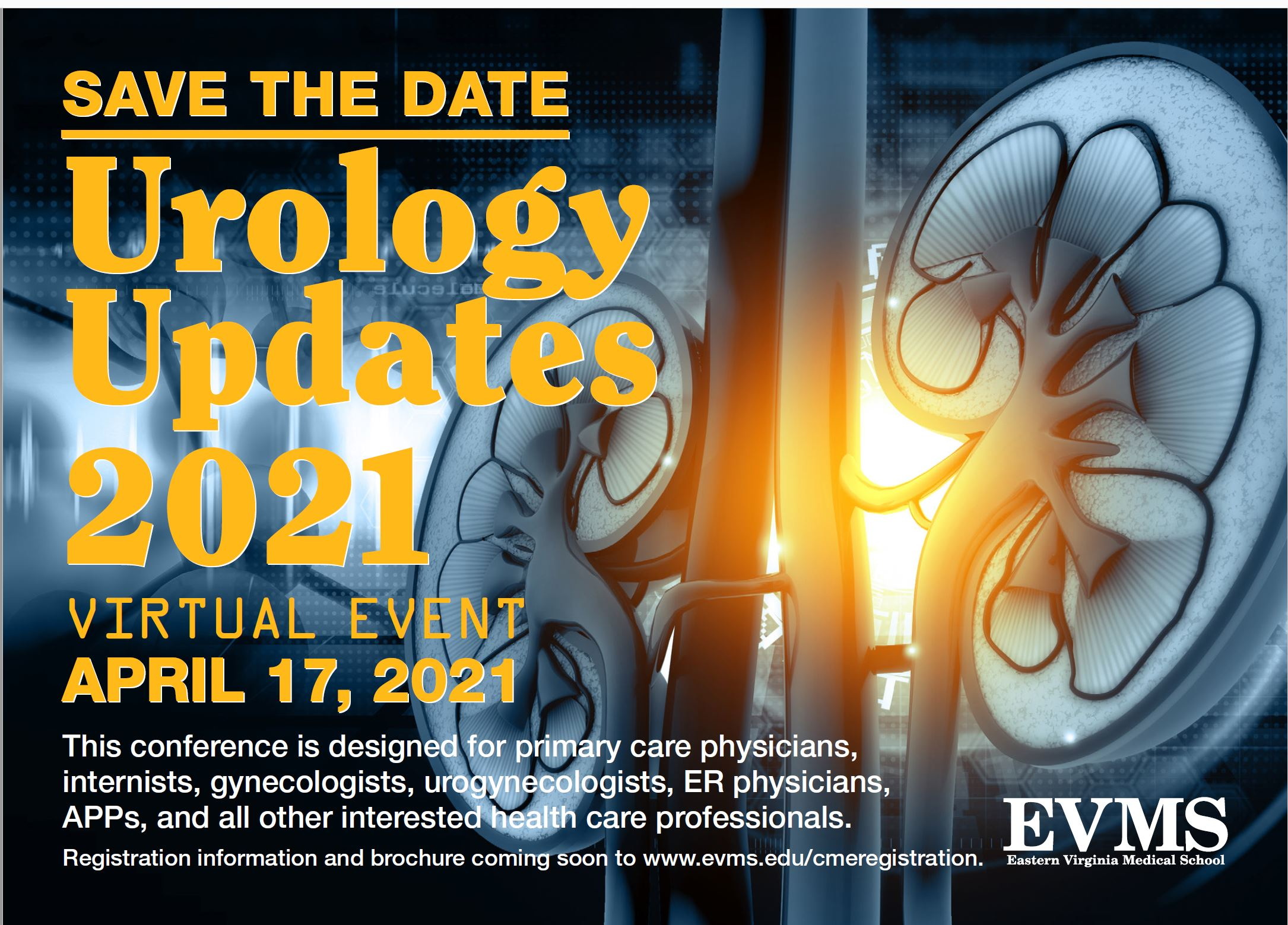 Save The Date - Virtual Event